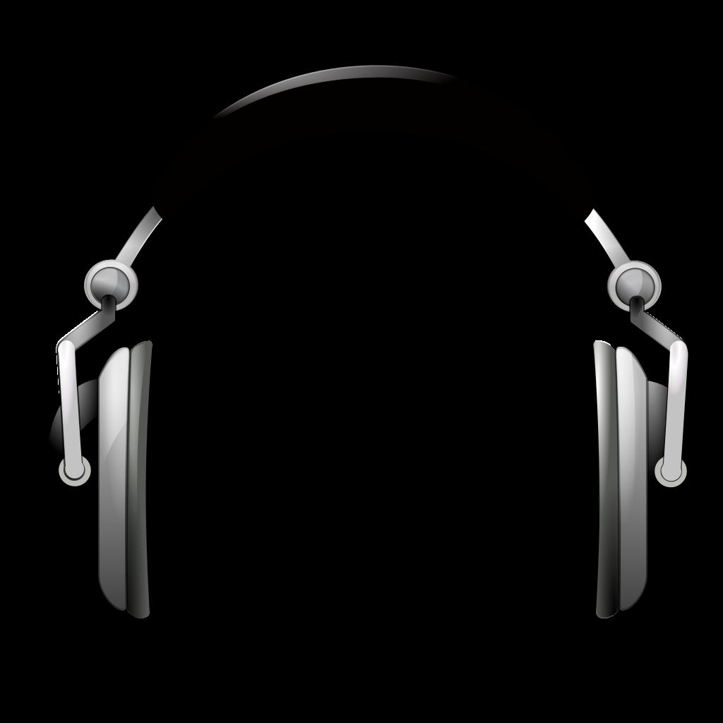 Headphones clipart file. Headphone icon png mart