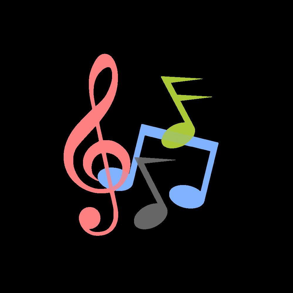 Dj clipart music note. Notes logo symbols svg