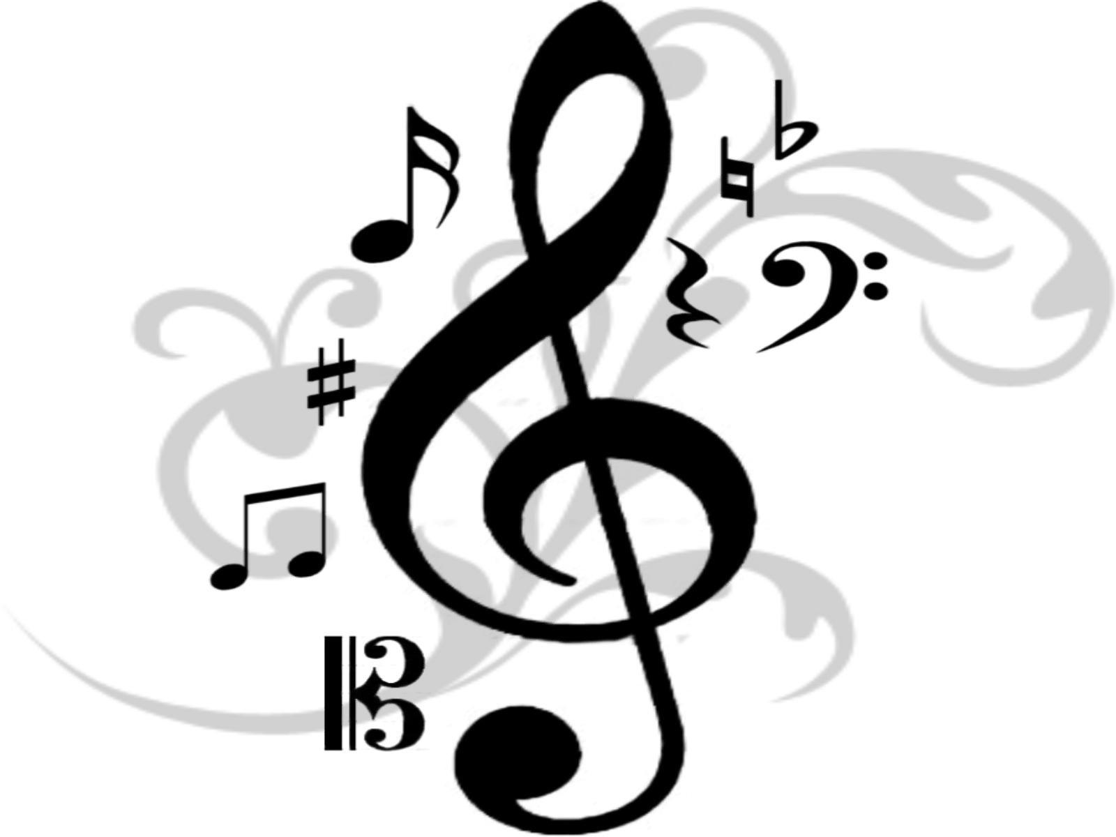 I will create professional. Dj clipart music note