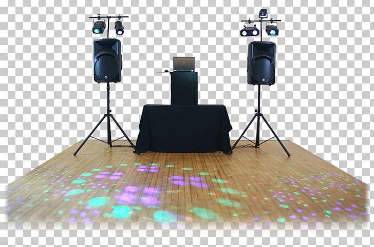 Lighting mobile disc jockey. Dj clipart studio light