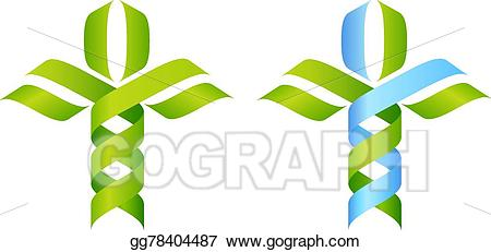 Dna clipart nature science. Eps vector tree concept