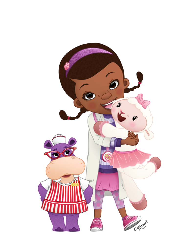 Girls collab by artsymaria. Doc mcstuffins clipart jr disney