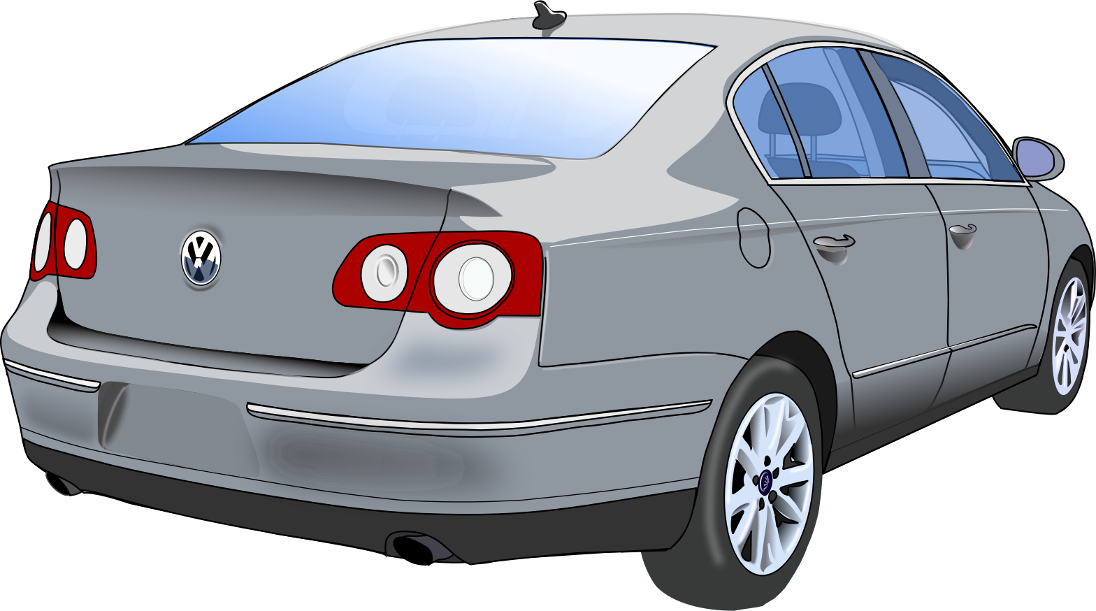 Sedan . Doctor clipart car
