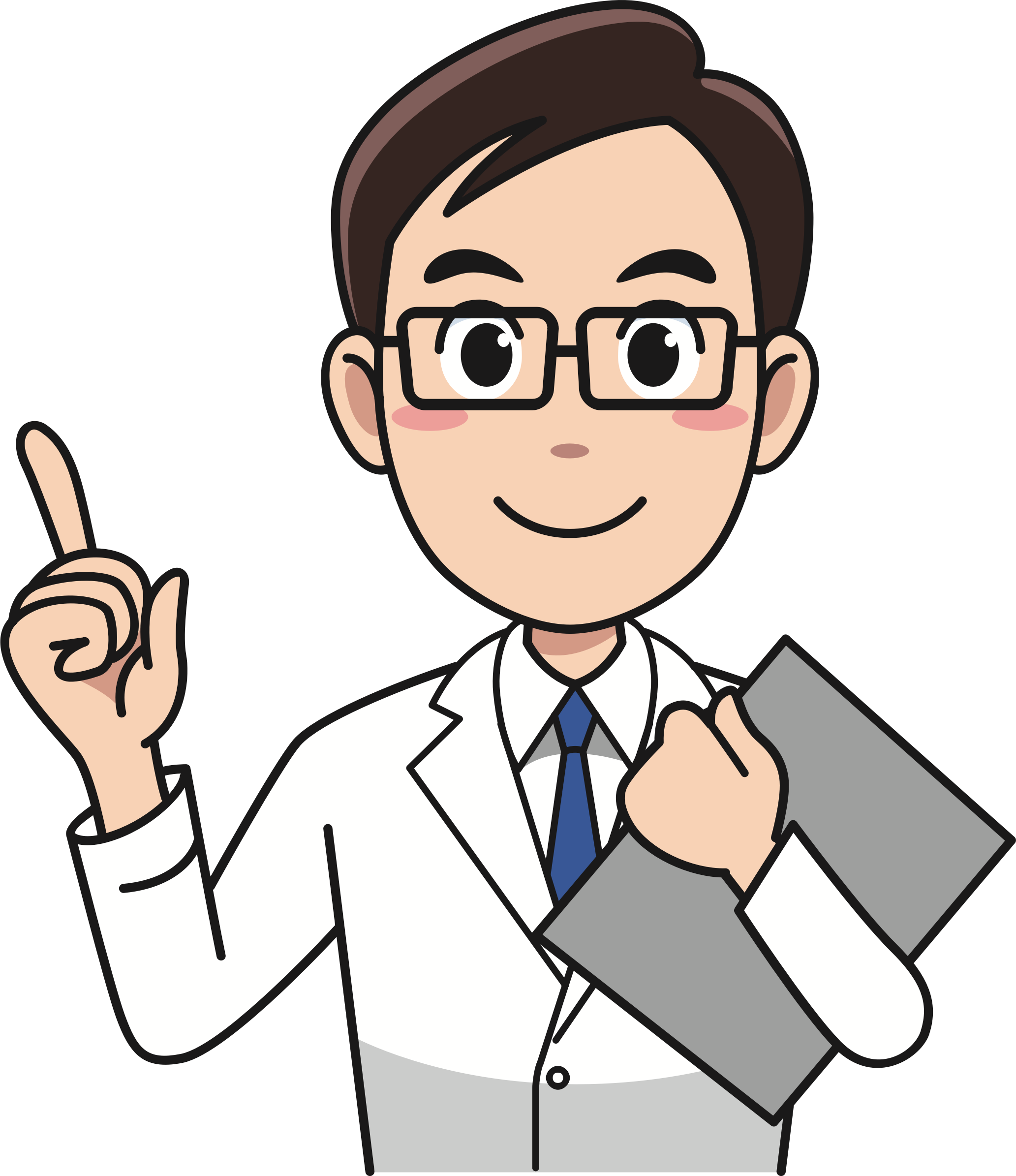 Big image png. Doctor clipart character