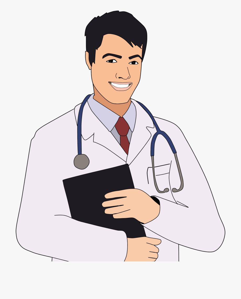 Doctor clipart clip art. Male of free