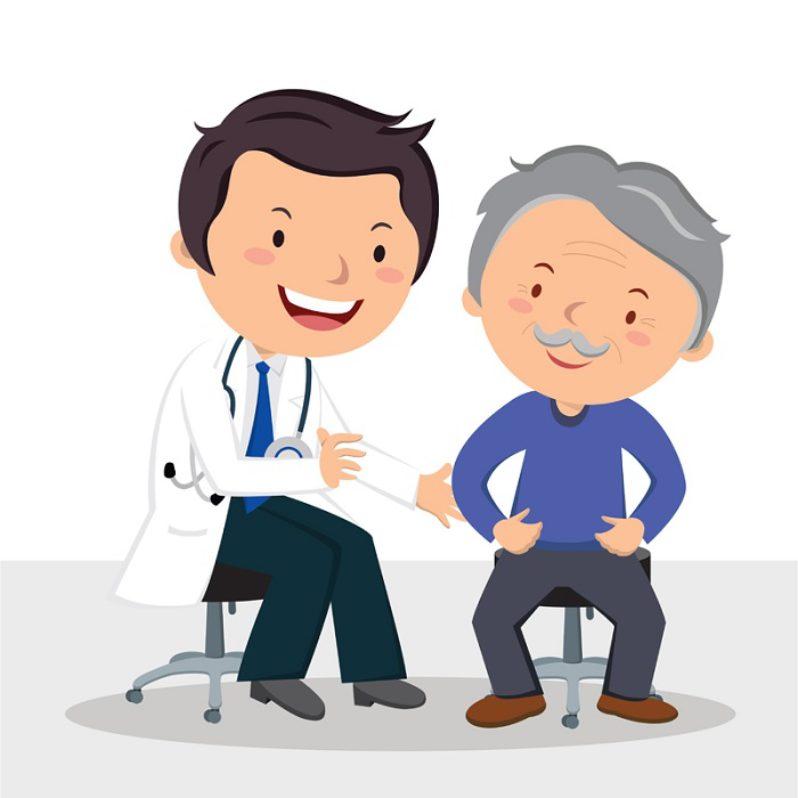 Station . Patient clipart doctor patient communication