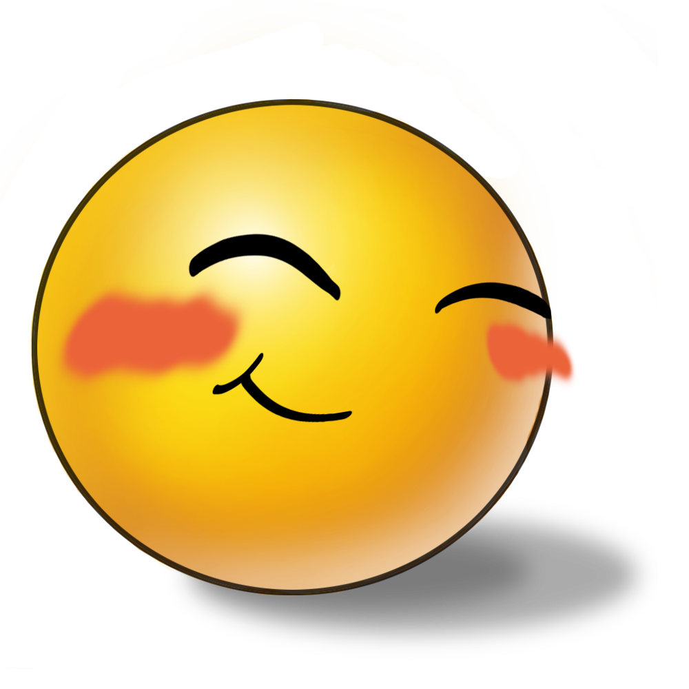 Faces clipart embarrassed. Emoticone google keres s