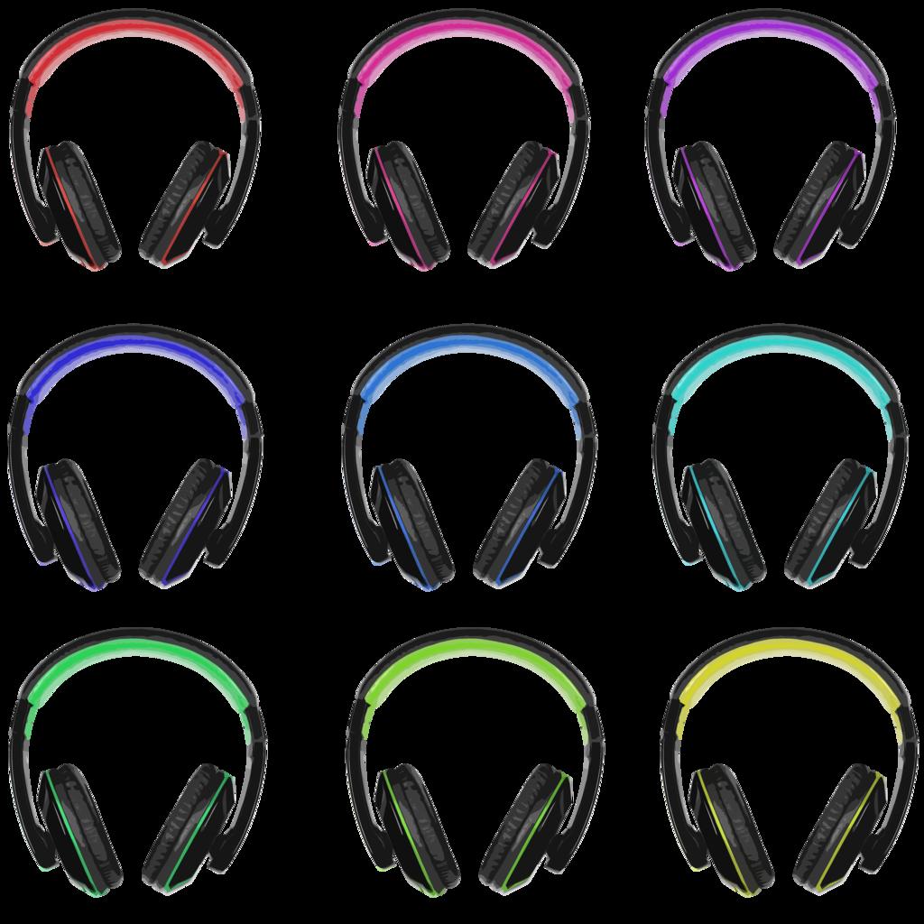 headphones clipart person