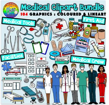 Medical bundle doctor surgeon. Hospital clipart hospital clinic