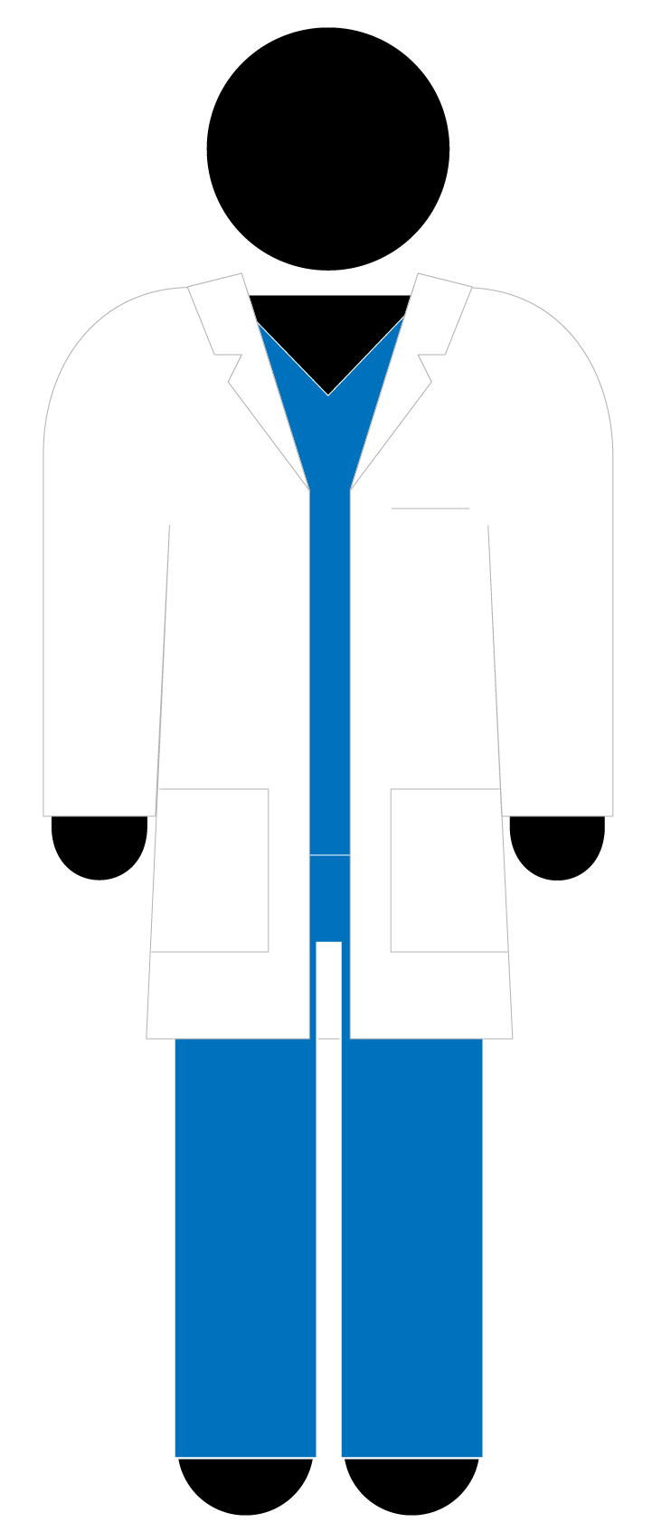 Doctor clipart jacket. Patient icon panda free