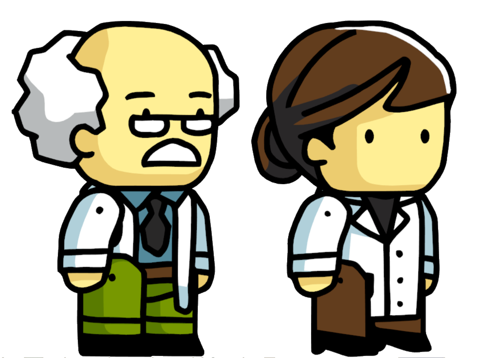 Doctors clipart scientist. Scribblenauts wiki fandom powered