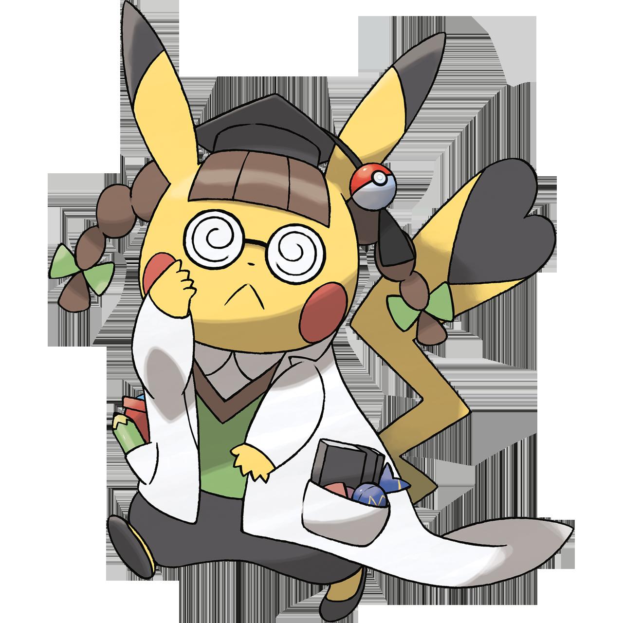 Doctors clipart scientist. Image doctor pikachu png
