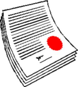 Legal . Document clipart