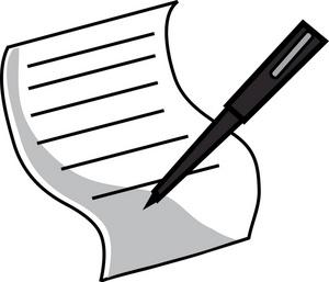Clip art of documents. Letters clipart business letter
