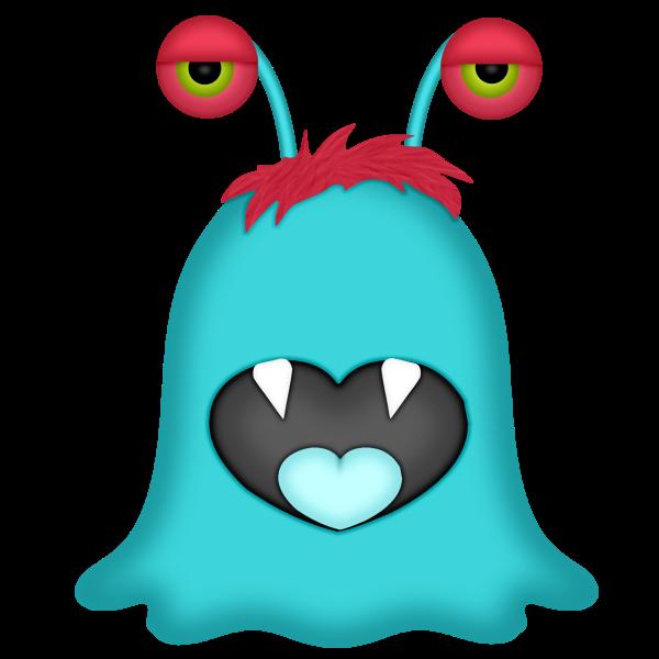 Monster clipart five eyed. Littlemonster vorschau minus clip