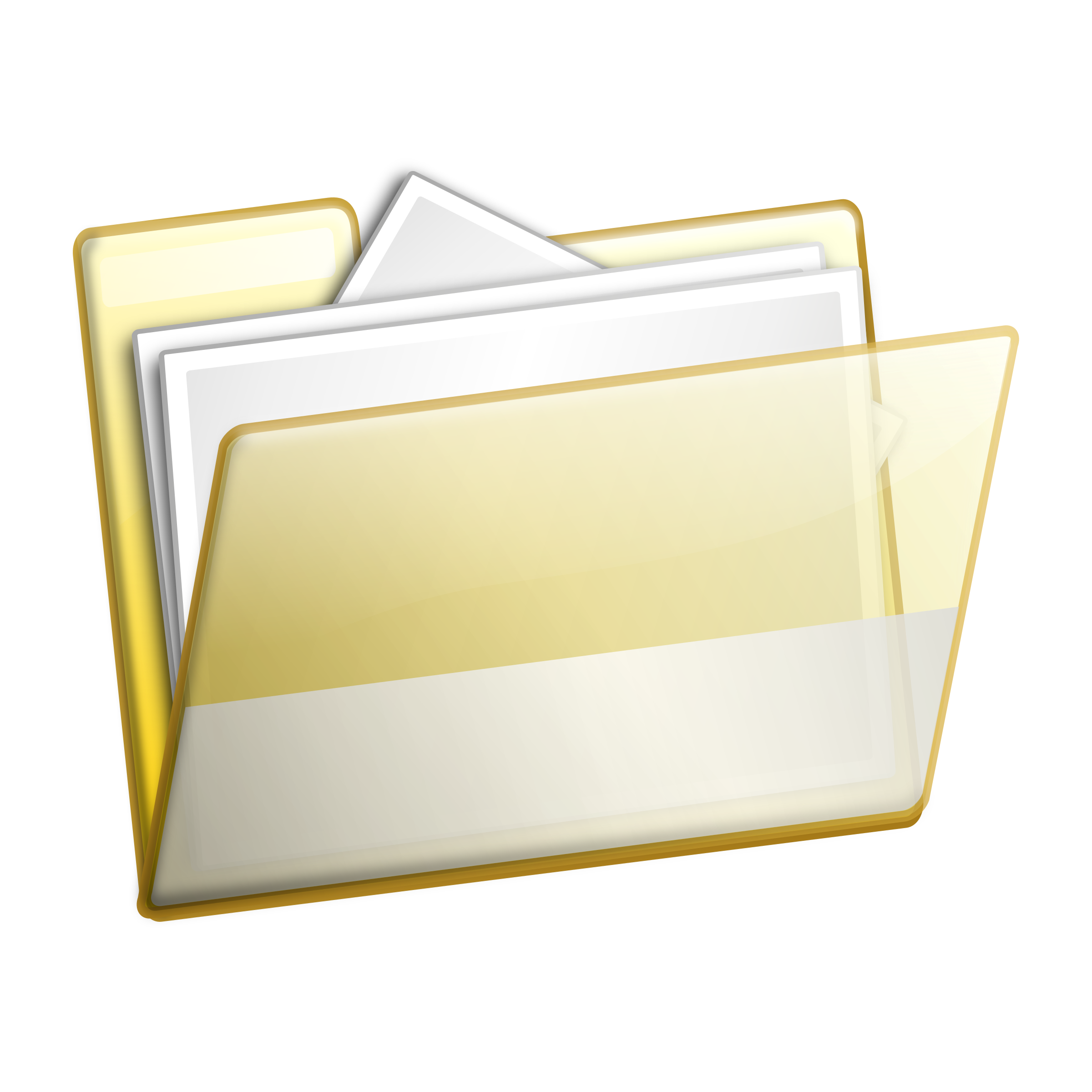 Simple documents icons png. Folder clipart office material