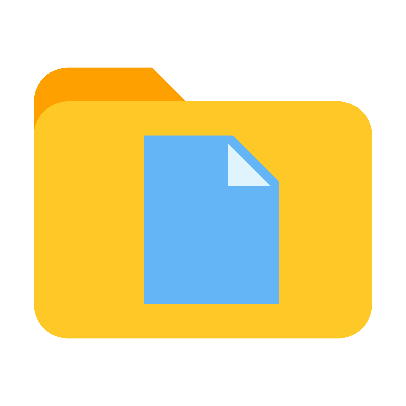 Documents icon free download. Folder clipart flat