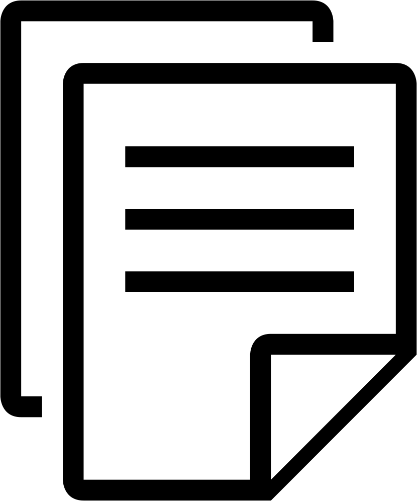 document clipart copy