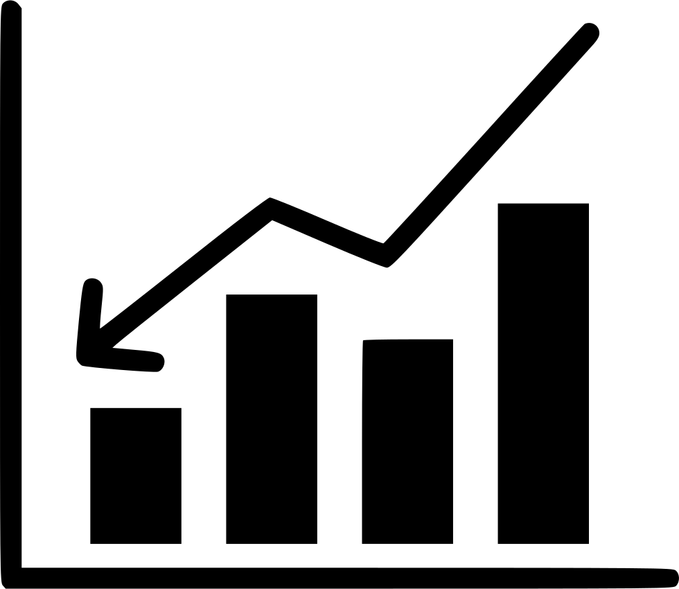 Growth clipart growth chart. Bussiness analysis report document
