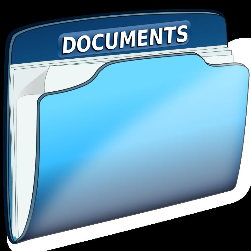 clipartlook. Folder clipart document folder