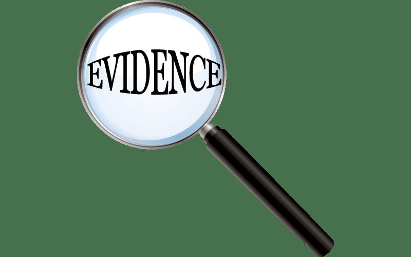 Evidence evidence folder