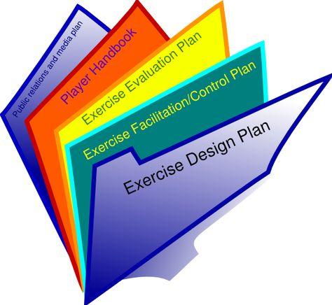 Document clipart exercise plan. Pinterest