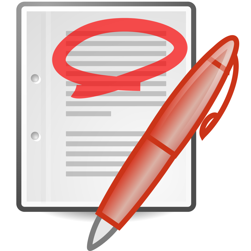 File text x highlight. Document clipart generic