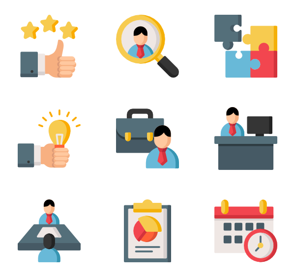 Icons free vector employees. Employee clipart employee icon