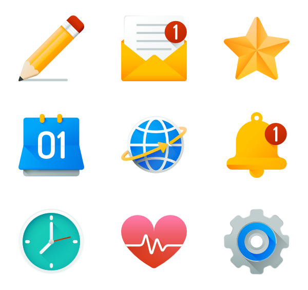 Icons free vector ui. Document clipart list