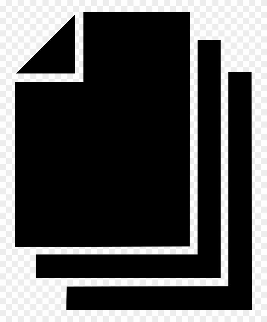 Paper copy comments . Document clipart list