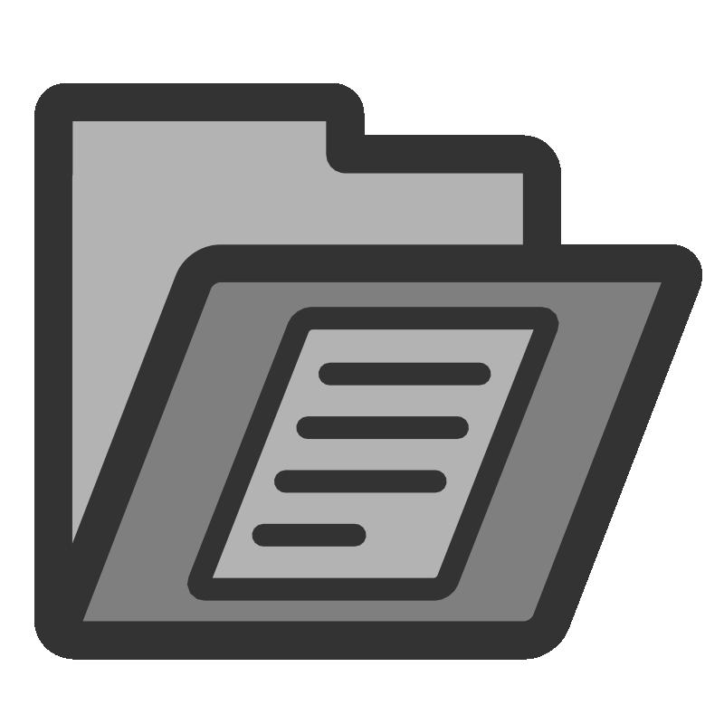 Folder clipart documentation. Clip art documents cliparts