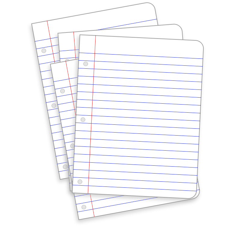Document clipart paper. Free messy images download