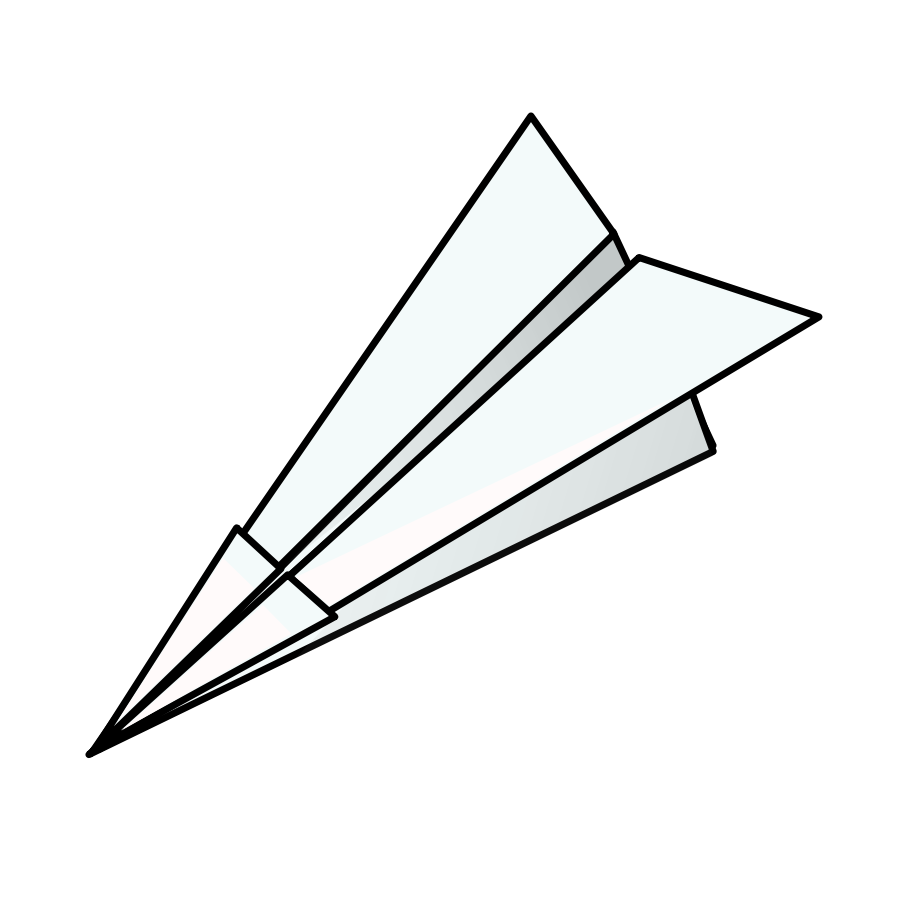 Airplane race . Document clipart paper