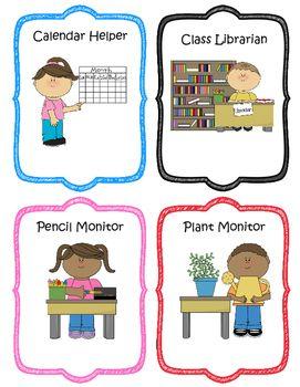 Job clipart kindergarten classroom. Free jobs
