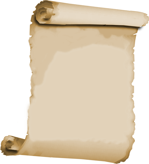 Pergaminos papeles rollos vintage. Document clipart papyrus scroll