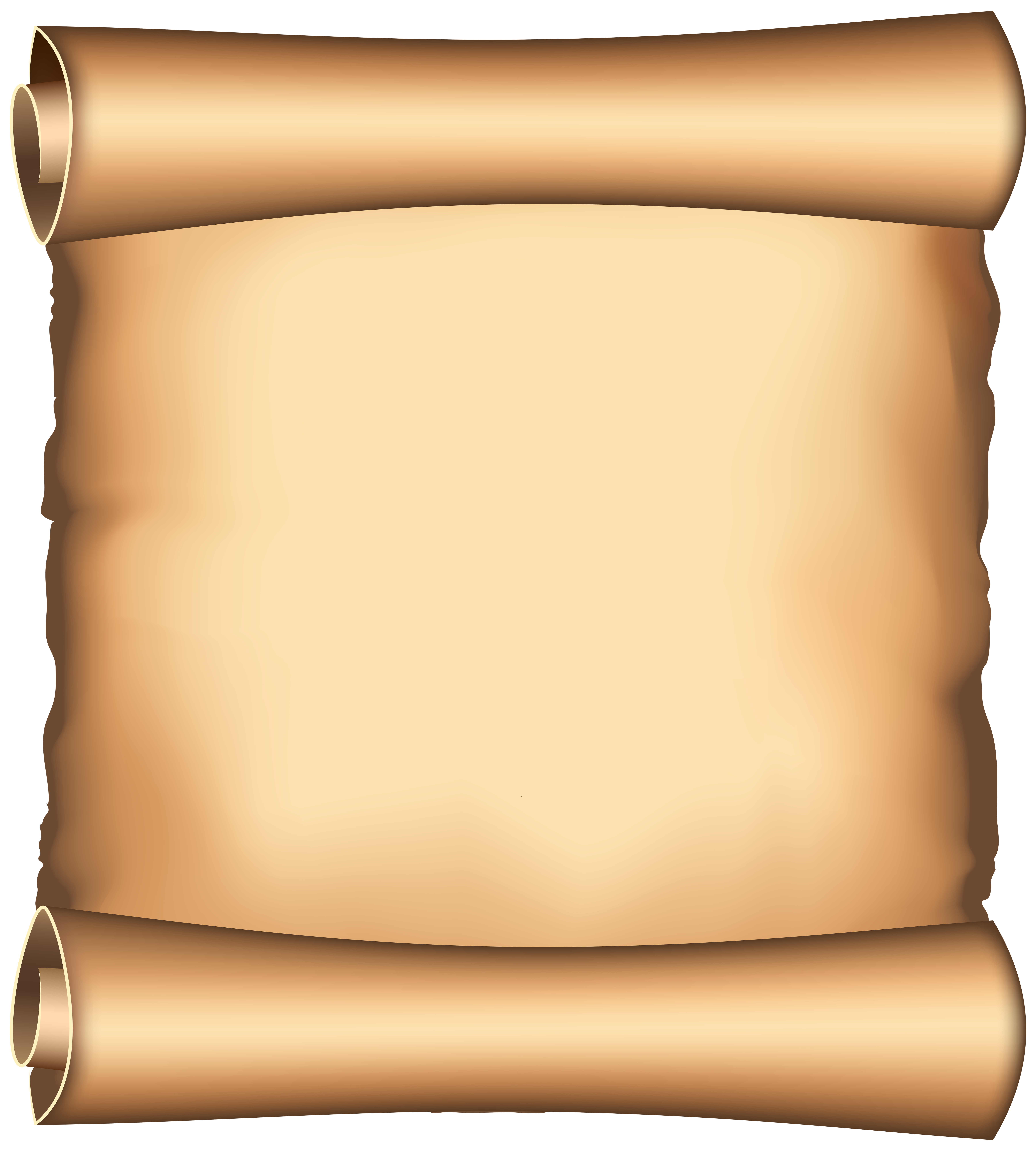 Document clipart papyrus scroll. Png clip art image