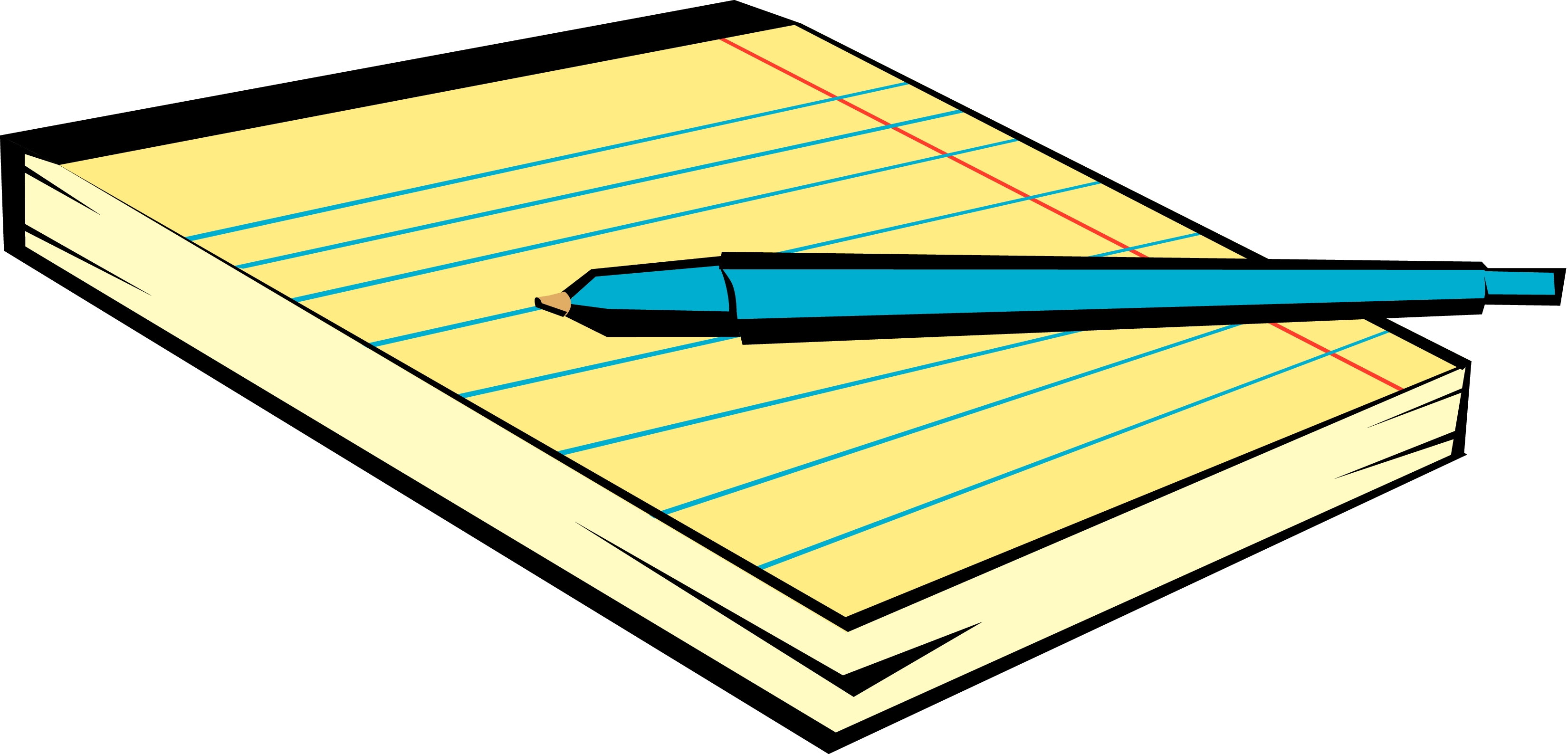 Free Notepad Cliparts, Download Free Clip Art, Free Clip Art on Clipart  Library