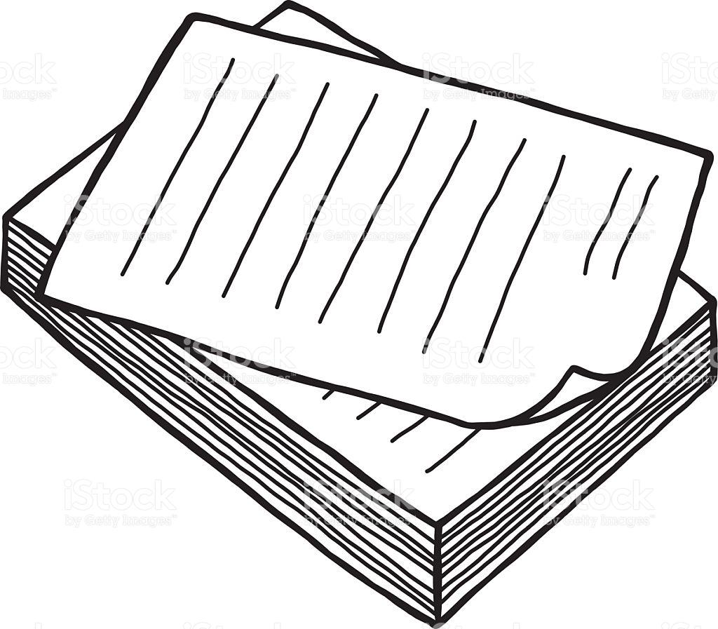 De documents station . Document clipart pile document