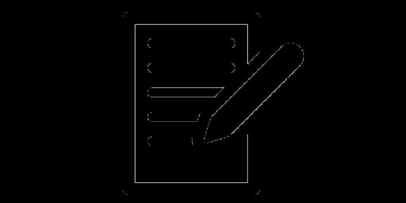 Document registration form