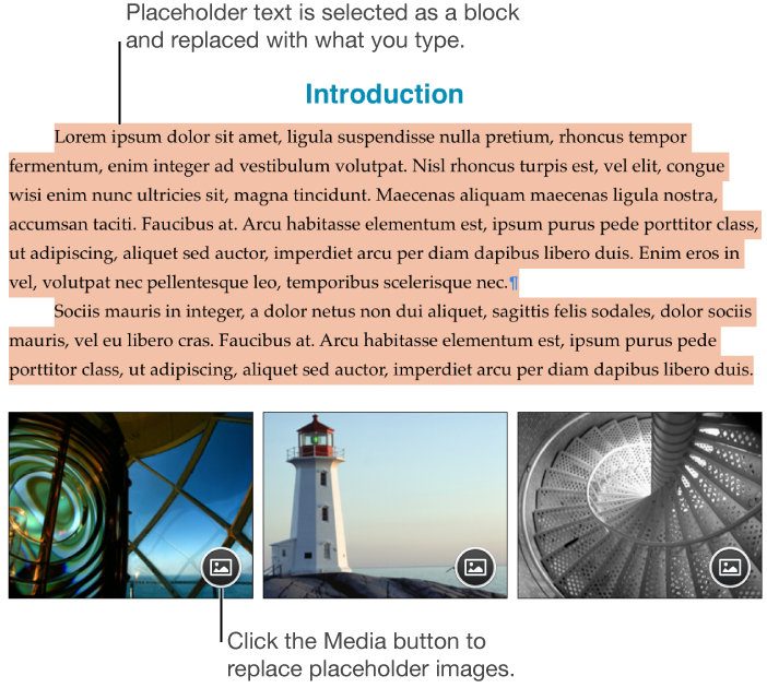 Document clipart text. Pages for mac add