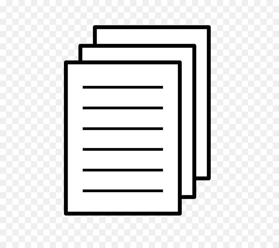 Document clipart transparent. Notebook cartoon rectangle square
