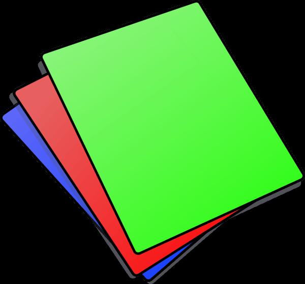 Paper icon cliparts zone. Document clipart vector
