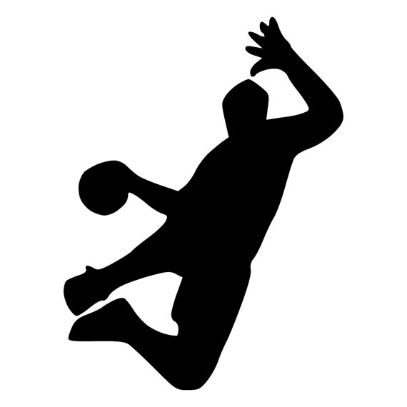Dodgeball clipart. Player graphics illustrations free