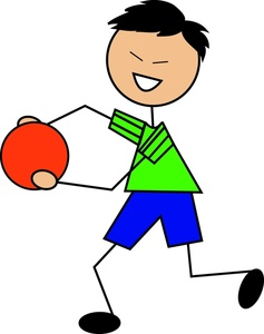 Asian clipart happy. Dodgeball image a boy