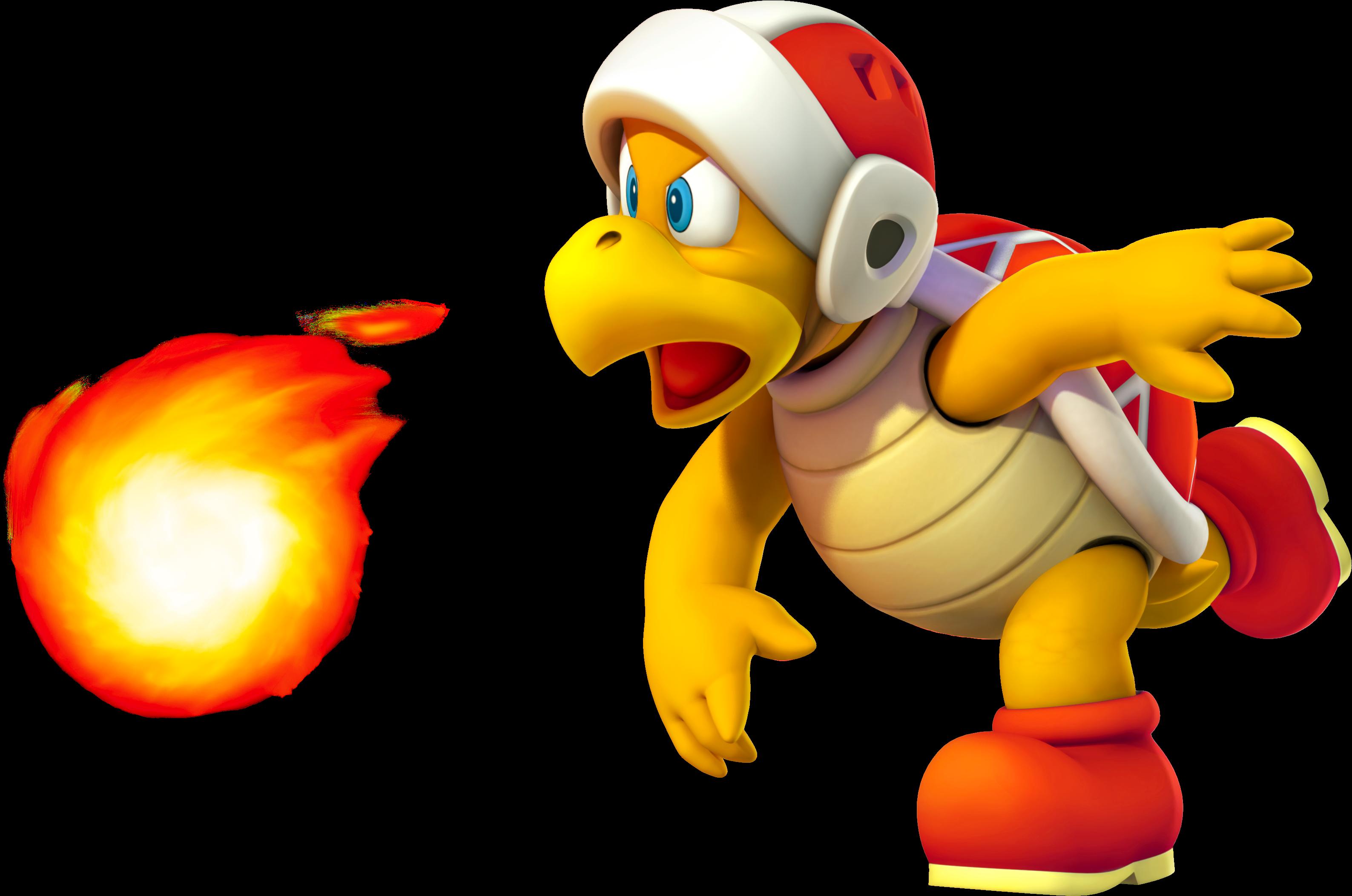 Explosion clipart fiery. Fire bro fantendo nintendo