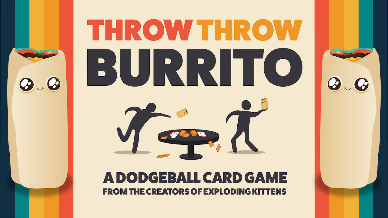 Throw burrito a hilarious. Dodgeball clipart group game