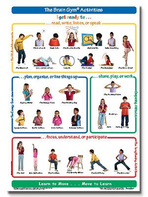 Movement clipart gym activity. The brain activities poster