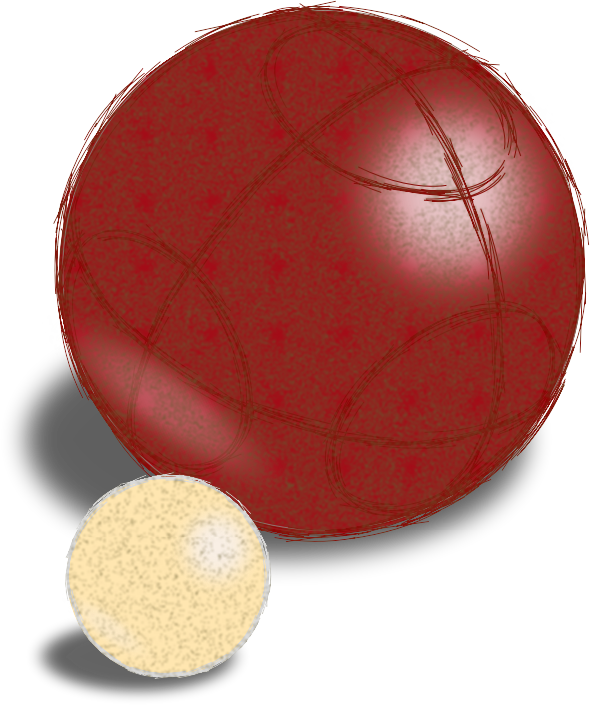 Dodgeball clipart lacrosse ball. Sketchy boccie and jack