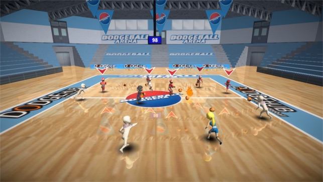 Dodgeball clipart sport arena. On the app store