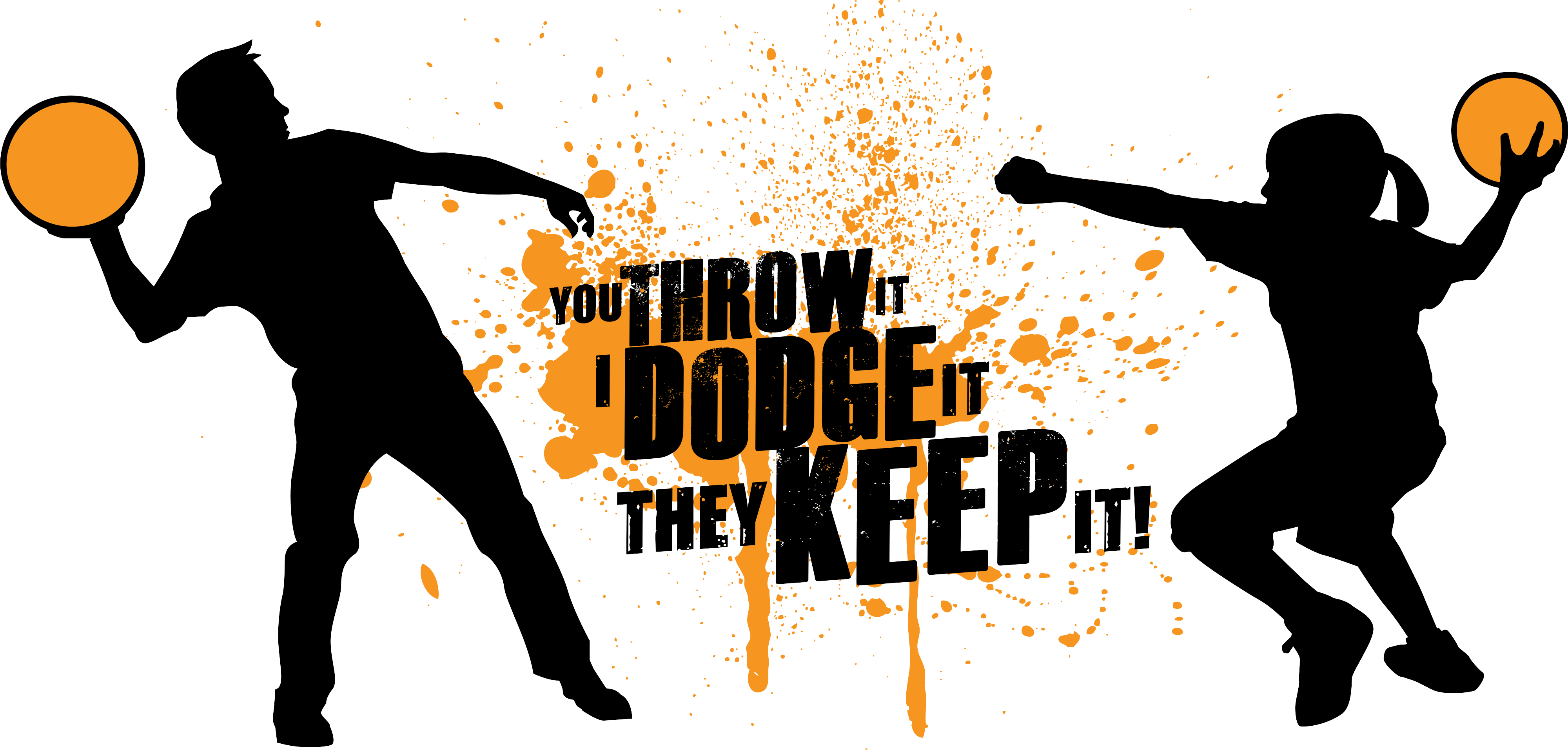 Dodgeball tournament publicity tools. Games clipart throwball